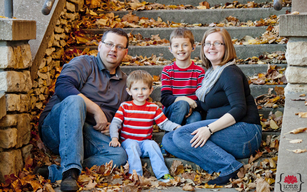 Bill, Shelly, Tyler and Jackson Crawford – Family Photos 2015